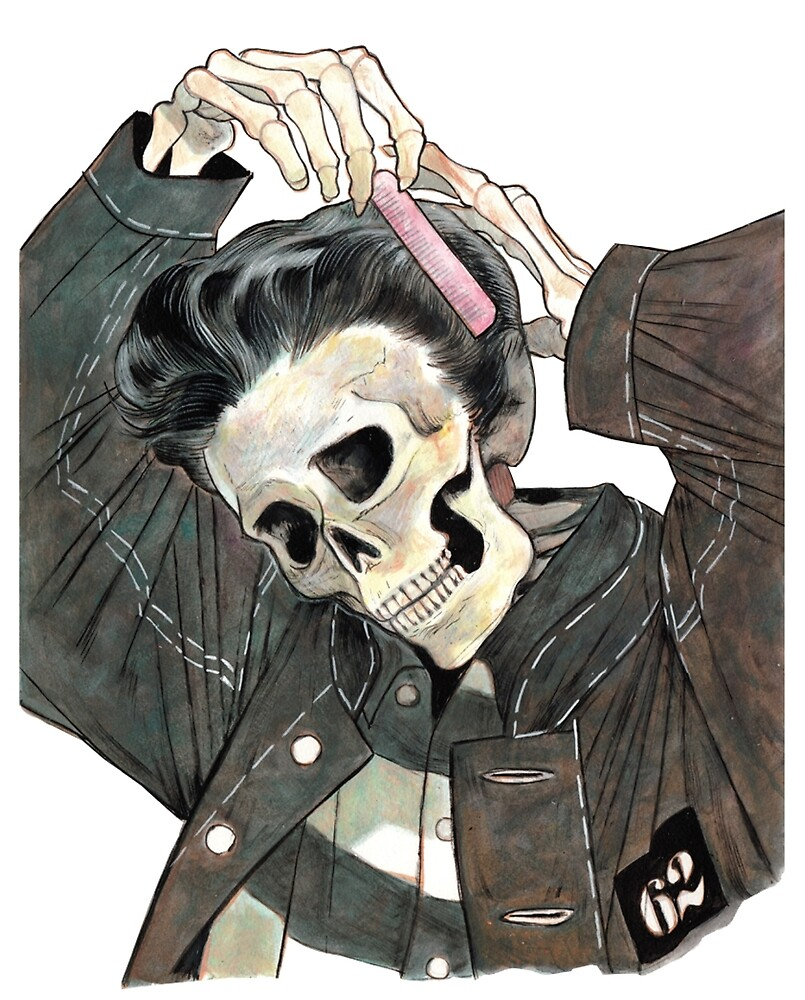 Greaser Skeleton  by raw95
