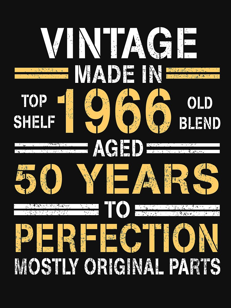 1966 - 50 years perfection by ngoctram155