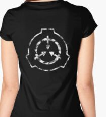 SCP Foundation Symbol Women's Fitted Scoop T-Shirt