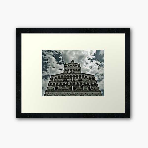 Cathedral Lucca Framed Art Print