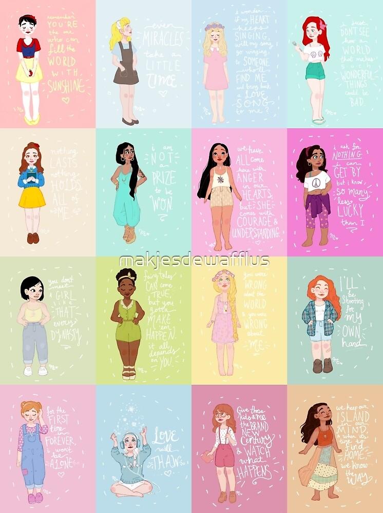 The Modern Princess Series by makjesdewafflus