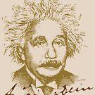 Albert Einstein visionary in modern physics by HomeTimeArt
