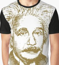 Albert Einstein visionary in modern physics Graphic T-Shirt