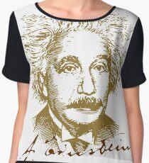 Albert Einstein visionary in modern physics Women's Chiffon Top