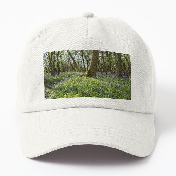 Bluebells at Gosling Corner Wood Dad Hat