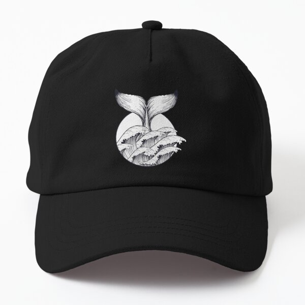 Whale shark tail Dad Hat