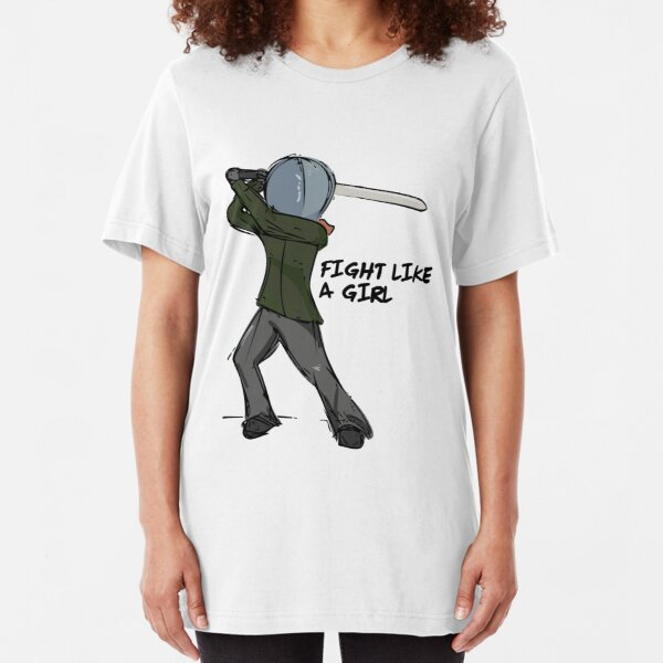 Fight Like a Girl Slim Fit T-Shirt