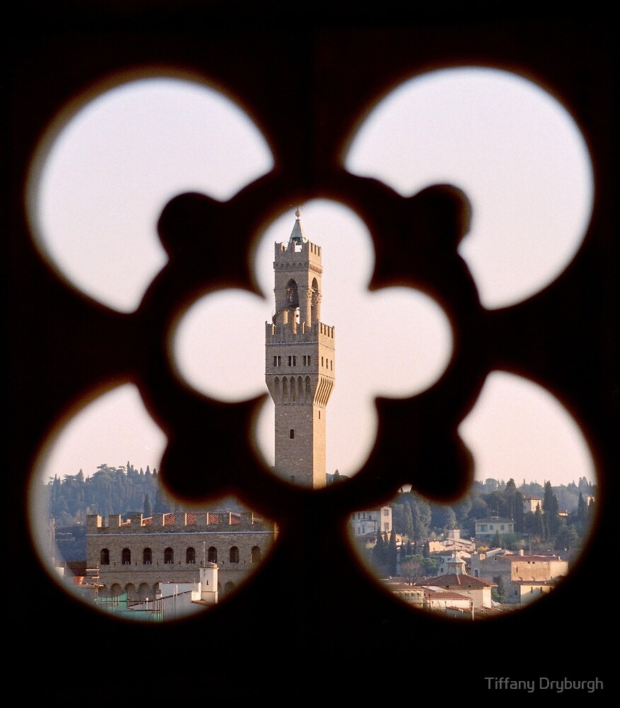 Palazzo Vecchio from the Campanile by Tiffany Dryburgh