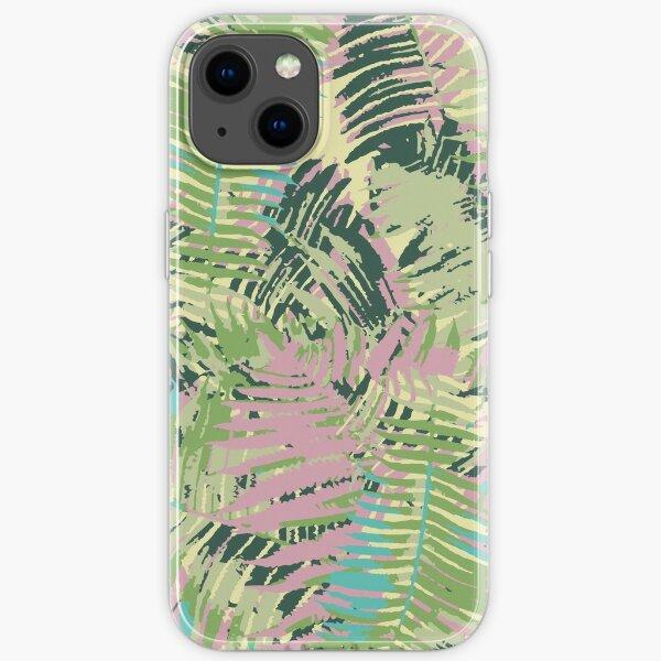Tropical Textures iPhone Flexible Hülle