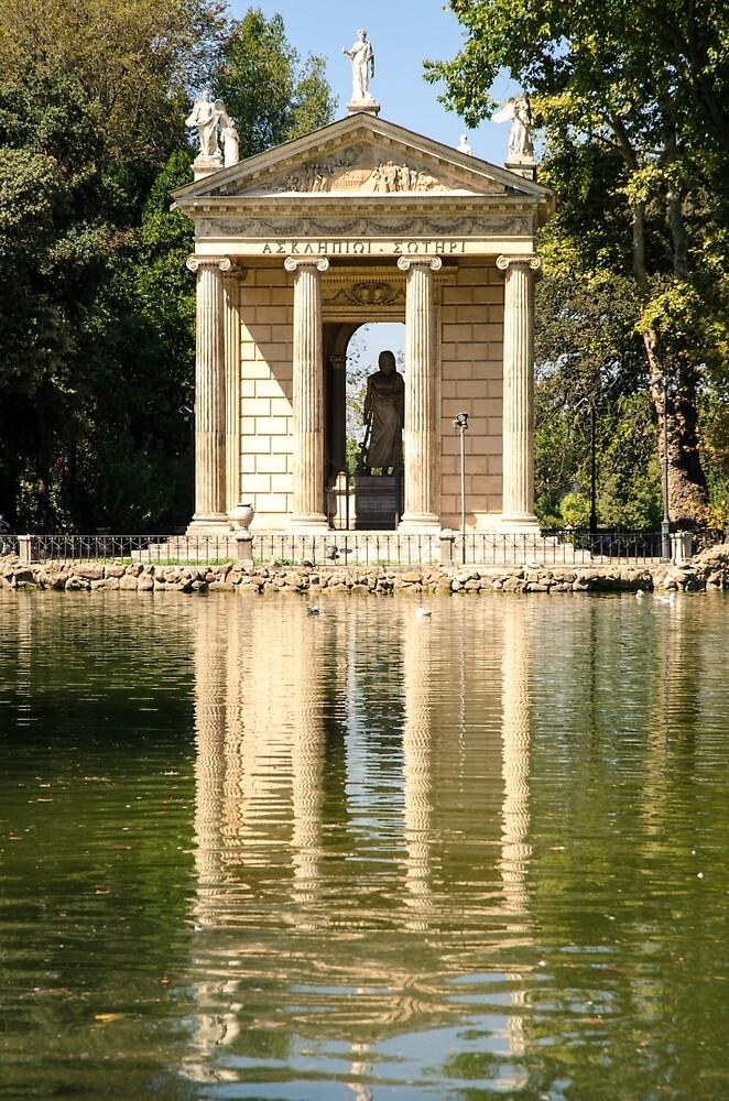 Villa Borghese gardens  by Andrea Mazzocchetti