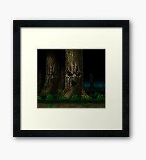 Mortal Kombat Living Forest Framed Print