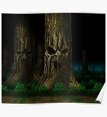 Mortal Kombat Living Forest Poster