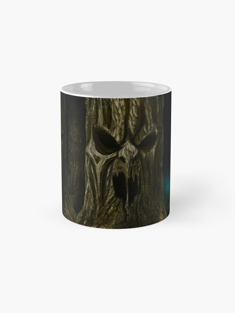 Alternative Ansicht von Mortal Kombat lebender Wald Tassen
