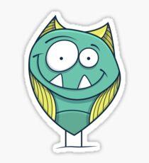 Zigouille, le monstre sympathique Sticker