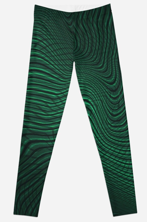 Green animal print by KanoaDesign