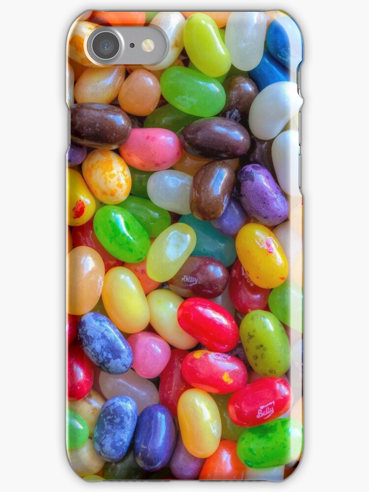 Jelly Bellies phone case by John Velocci