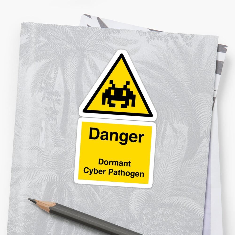 Dormant Cyber Pathogen (no blocking) by daveio