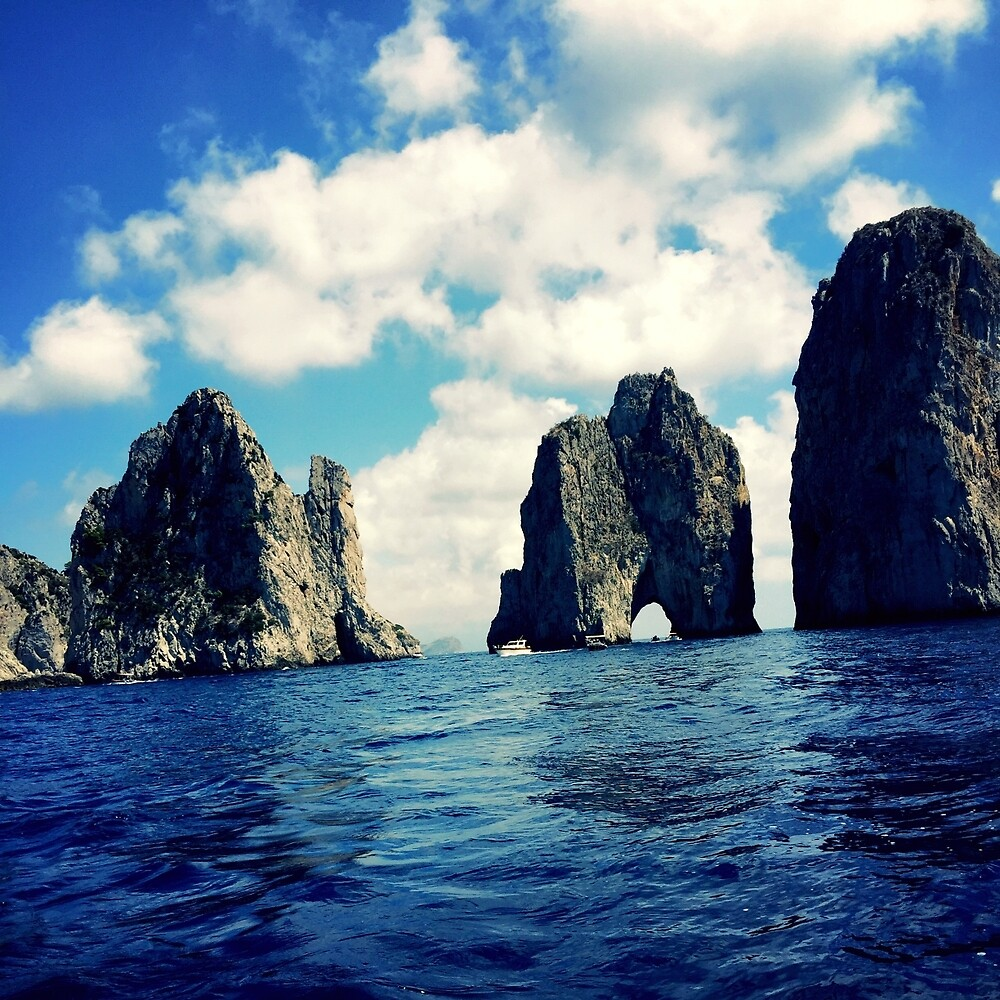 Faraglioni of Capri by TheWhiteBoiii