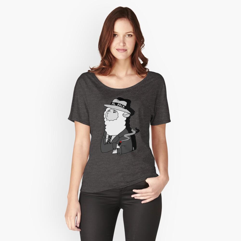 Al Capone Alpaca Loose Fit T-Shirt