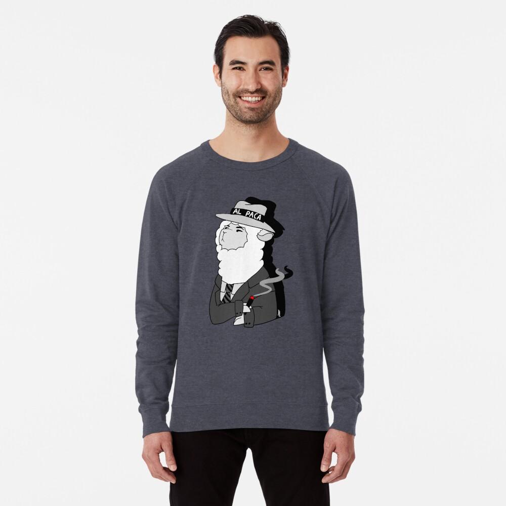 Al Capone Alpaca Leichter Pullover
