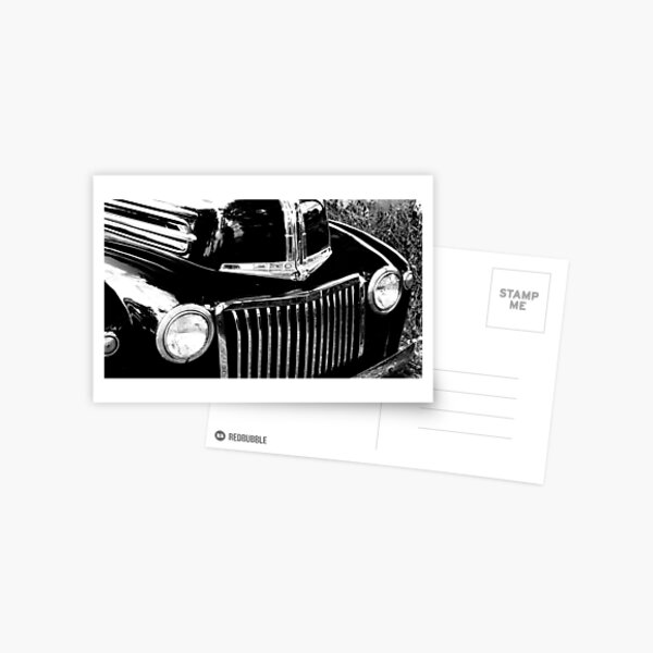 Classic Lines Postcard