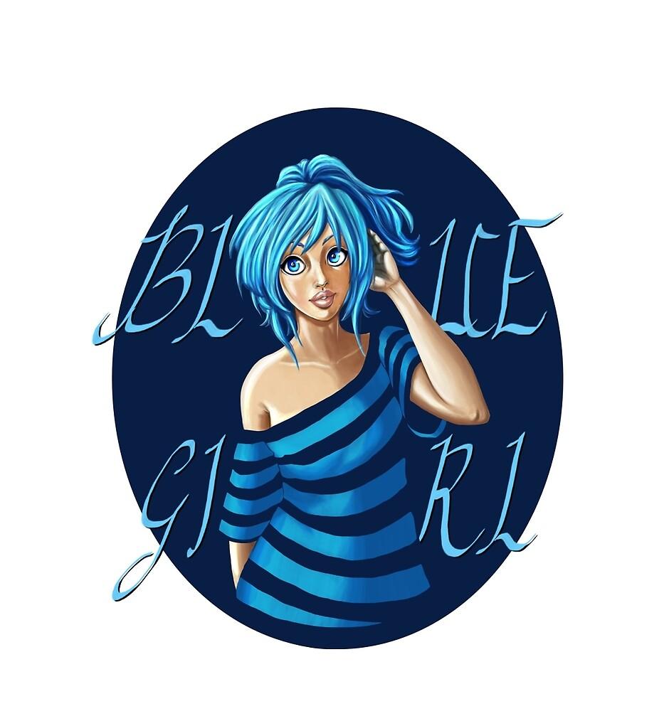 Pin-Up Blue Girl by Fab-Yana8