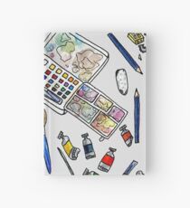 Arlie Opal's Art Supplies Painting Hardcover Journal