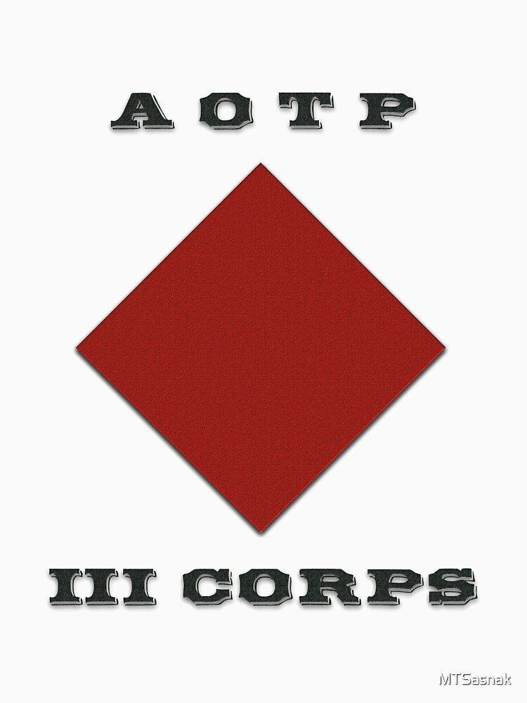 Army of the Potomac III Corps Emblem by MTSasnak