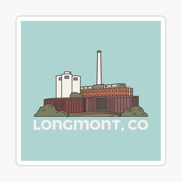 Old Sugar Mill Longmont (Solid) Sticker