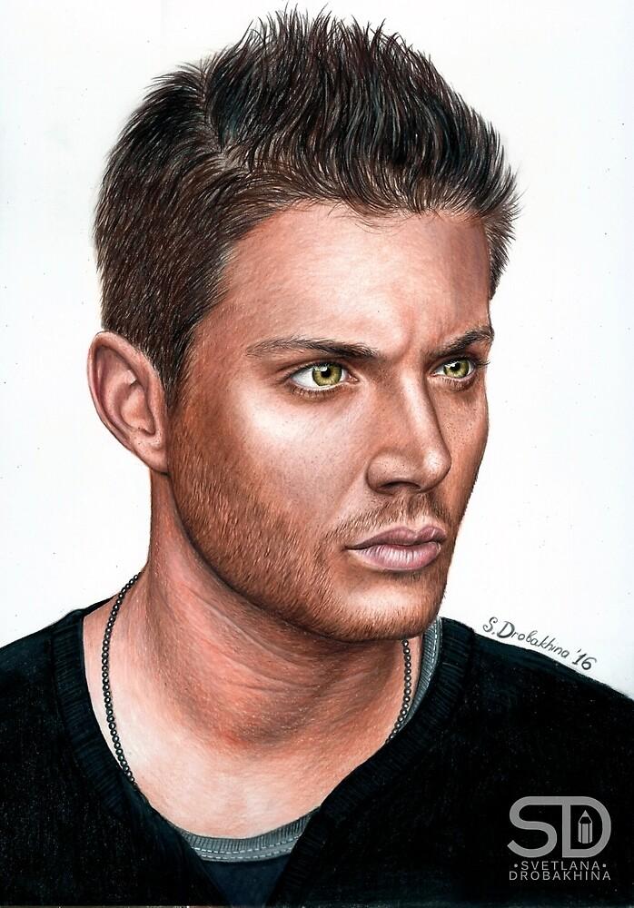Jensen Ackles by SDrobakhina
