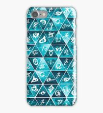 Shadowhunters Runes Mosaic iPhone Case/Skin