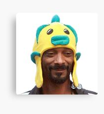Snoop Doggy Dog Hat Canvas Print