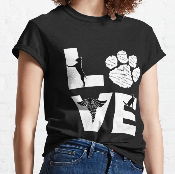 Veterinary Assistant - Love Classic T-Shirt