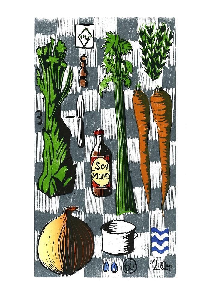 Vegetable Stock /1 by David Esslemont