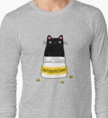 FUR ANTIDEPRESSANT Long Sleeve T-Shirt