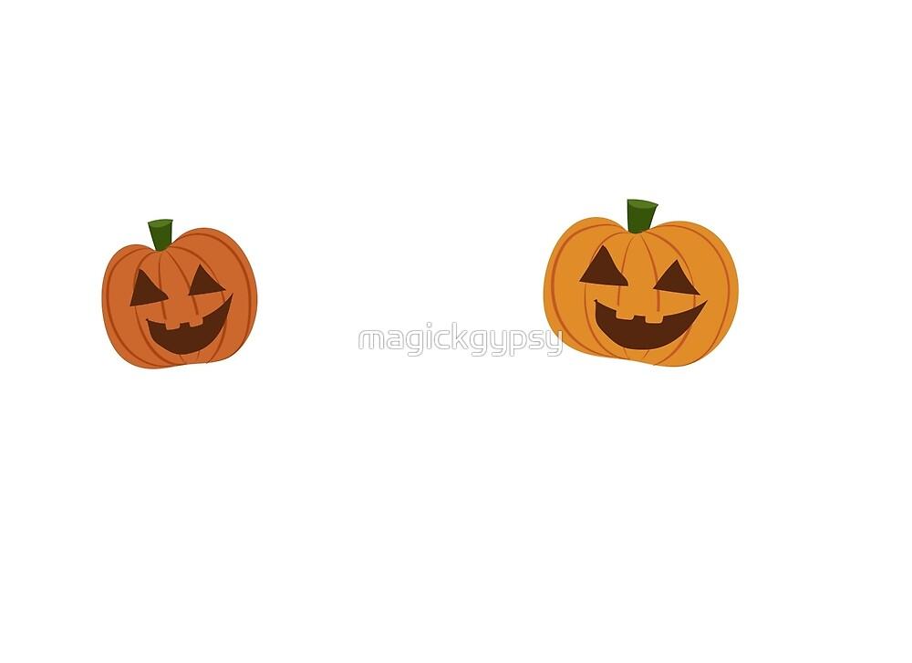 Peek-a-BOO Pumpkins by magickgypsy