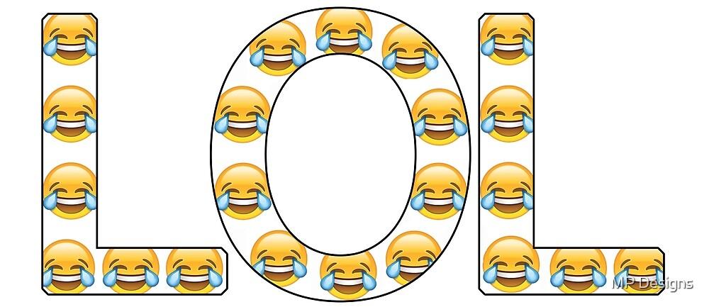 LOL emoji by Marla Perelmuter