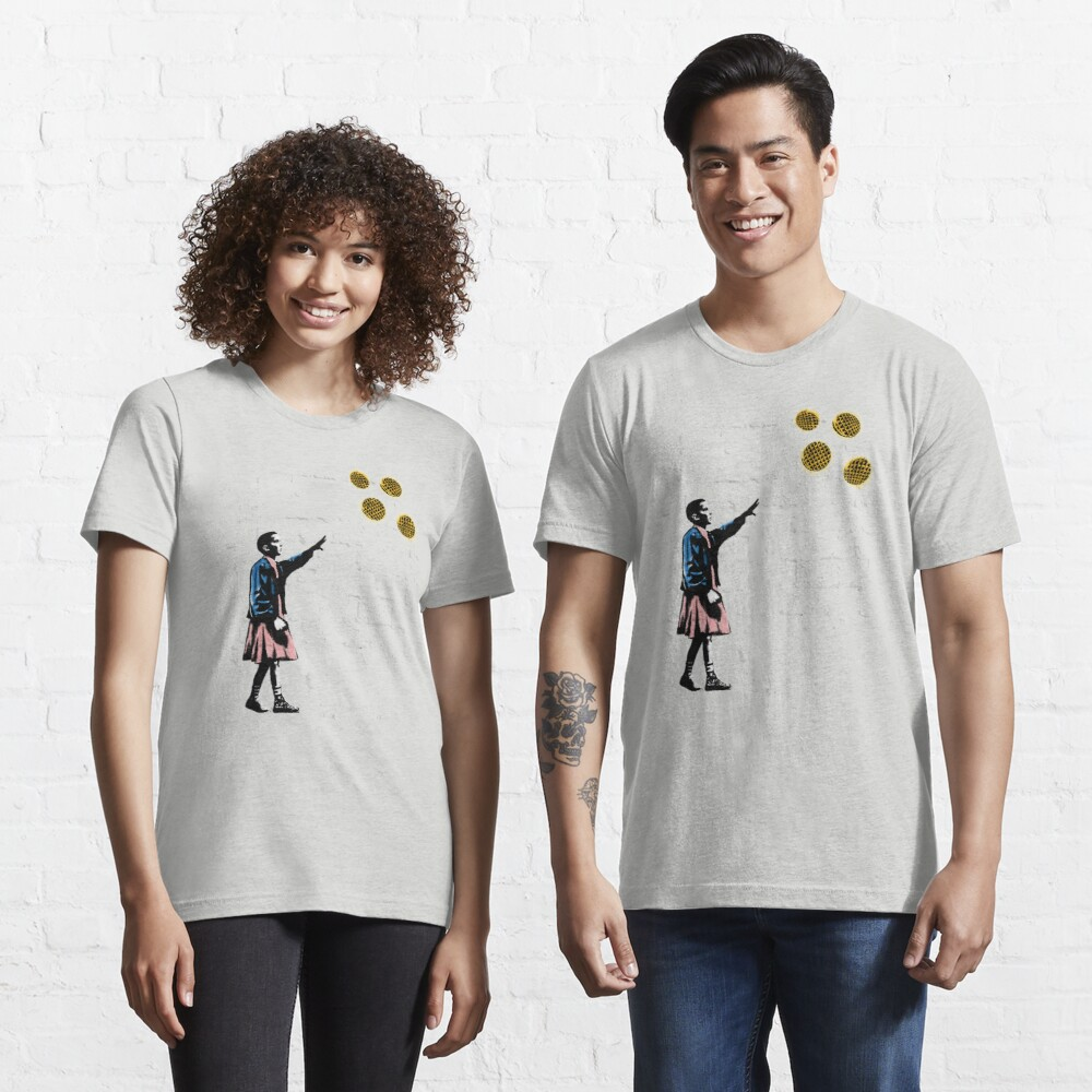 Girl and waffles Essential T-Shirt