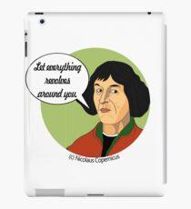 Funny Science Nicolaus Copernicus iPad Case/Skin