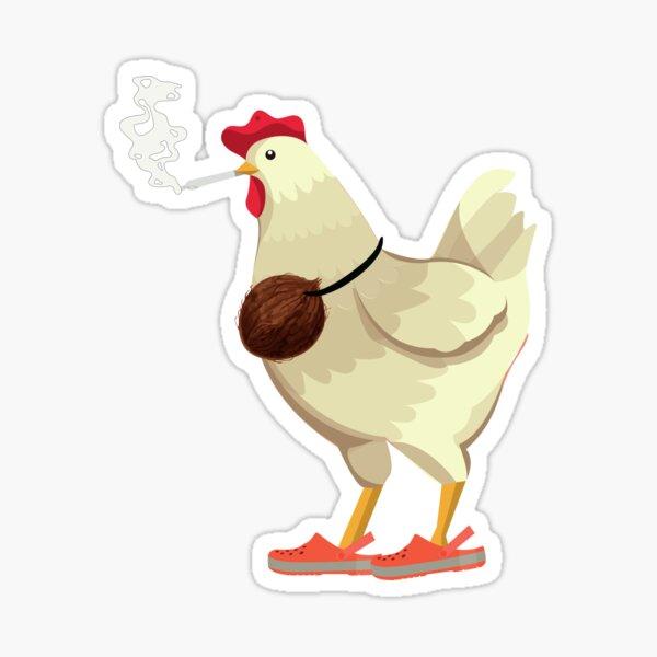 poguelandia chicken Sticker