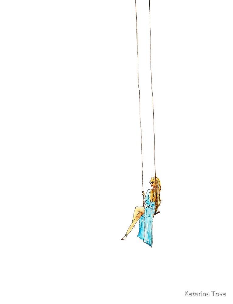 Swinging by Katerina Izotova