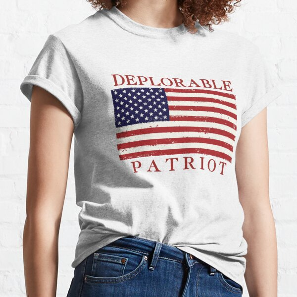 Deplorable Patriot Classic T-Shirt