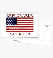 Deplorable Patriot Postcards