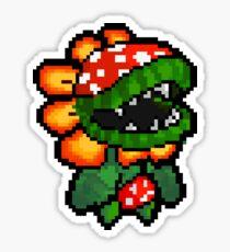 Petey Piranha sprite Sticker