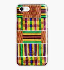 Textured Kente iPhone Case/Skin