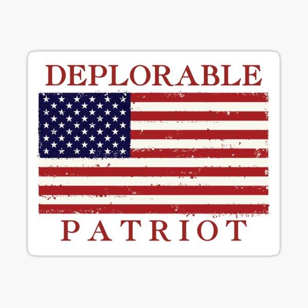 PROUD TO BE DEPLORABLE Patriotic Anti Clinton HAT Trump Republican political #2