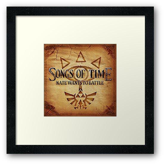 Songs of Time Print by natewantstobtl