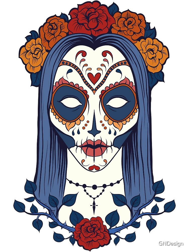 Sugar Skull Lady by GNDesign
