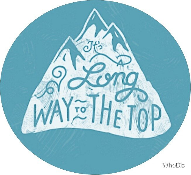 Long Way to the Top - Blue  by WhoDis