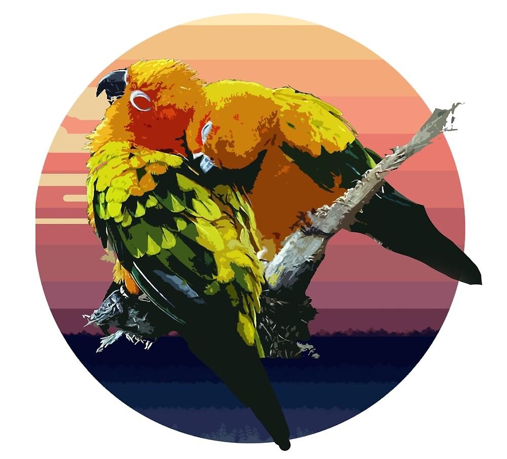 Birds by Nordkindchen